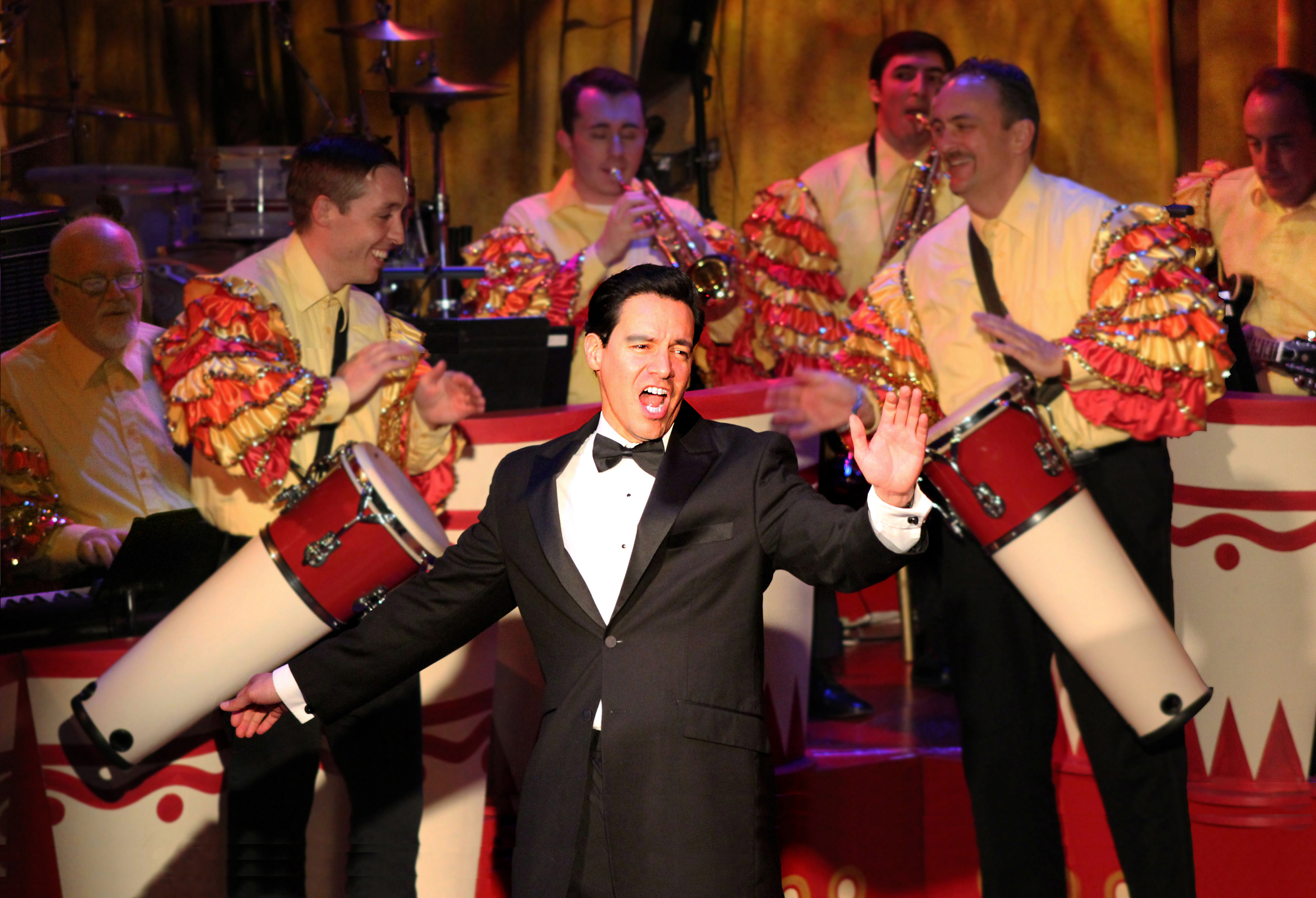 Bill Mendieta as Ricky in I LOVE LUCY® LIVE ON STAGE. Photo by Ed Krieger