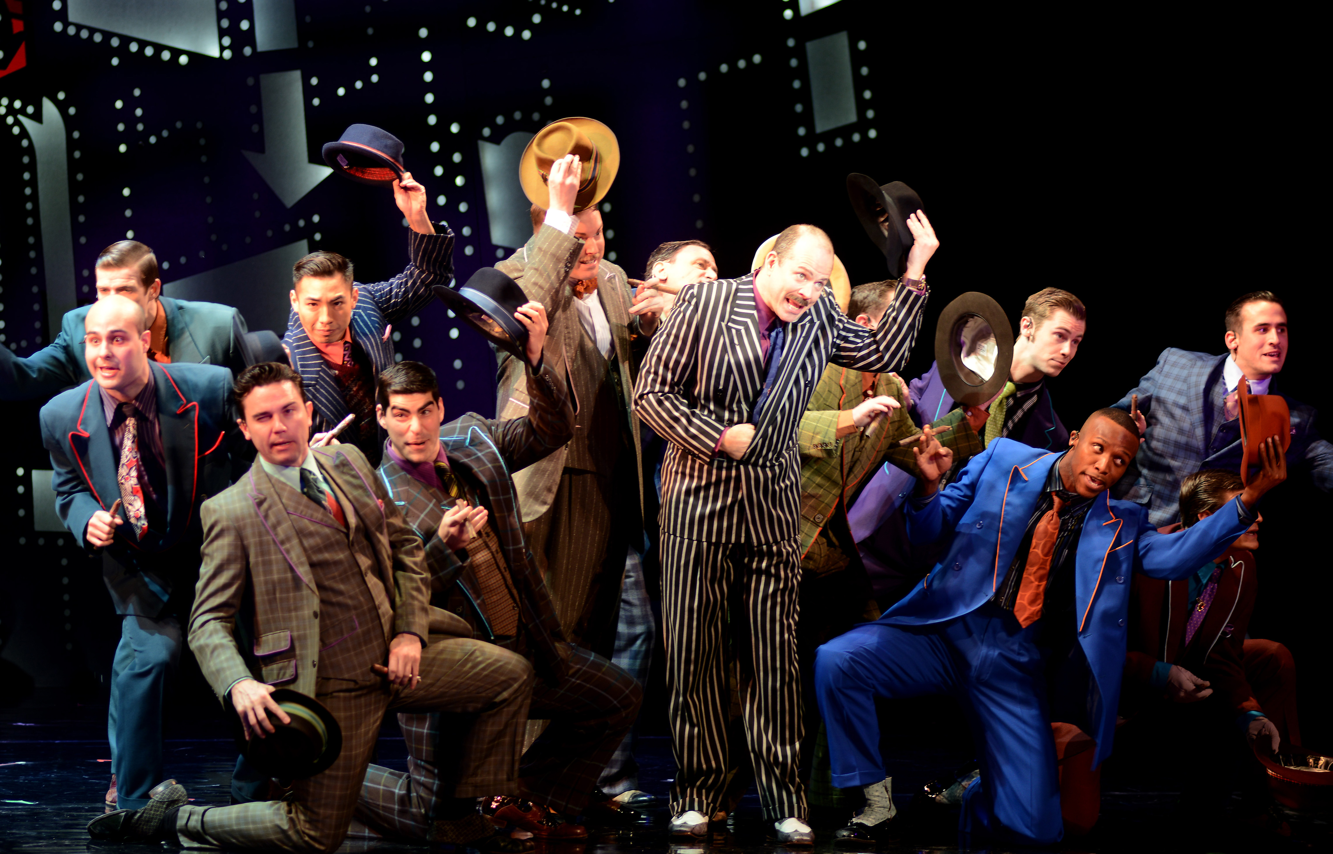an analysis of guys and dolls performed in the murray kahn theater He has performed most recently as jud in oklahoma at theater in the grove where he also performed in chicago, the full monty, and god of colton is thrilled to be making his broadway rose debut in guys and dolls previous credits include edna in hairspray, selsdon in noises off.